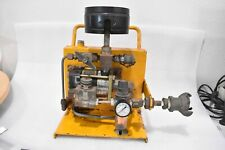 Haskel Ms 188 Air Driven Liquid Pump Assembly With Turbo Ho M2 Filter Amp Psi Guages