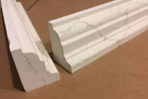 Details about Luxury White Marble Crown Moldings Border Tiles/Wall Best  price!