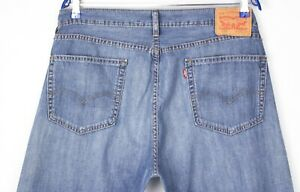 Levi's Strauss & Co Hommes 505 Jeans Jambe Droite Taille W36 L32 AHZ143