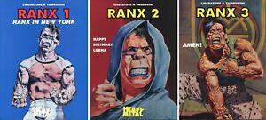 Ranx [Xerox], Vol. 1-3. English Editions, 1996.