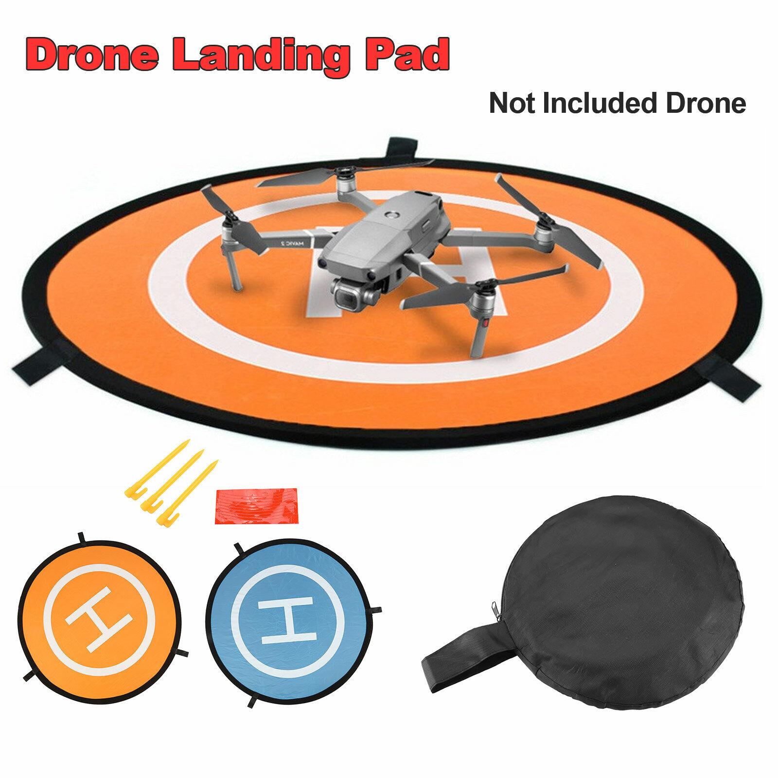 75cm Drone Launch Pad Landing Mat Helipad Foldable for DJI Mavic Phantom 4/3 UK