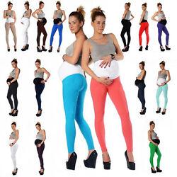 Umstandsleggings*Leggings*Legging*Baumwolle*11 Farben*36,38,40,42,44,46
