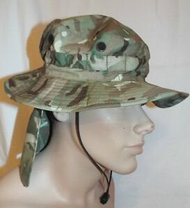 Image is loading MTP-CAMOUFLAGE-TROPICAL-COMBAT-BOONIE-BUSH-SUN-HAT- 6c88d1eeac2