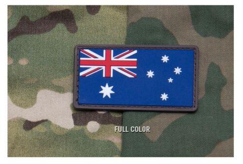 3x1.6 Australian Flag Milspec Monkey Full Color New 2015 PVC Patch
