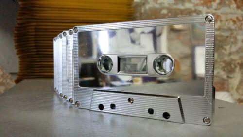 Silver Metallic Mirror C90 cassette tape rare collectable blank audio NEW 2019