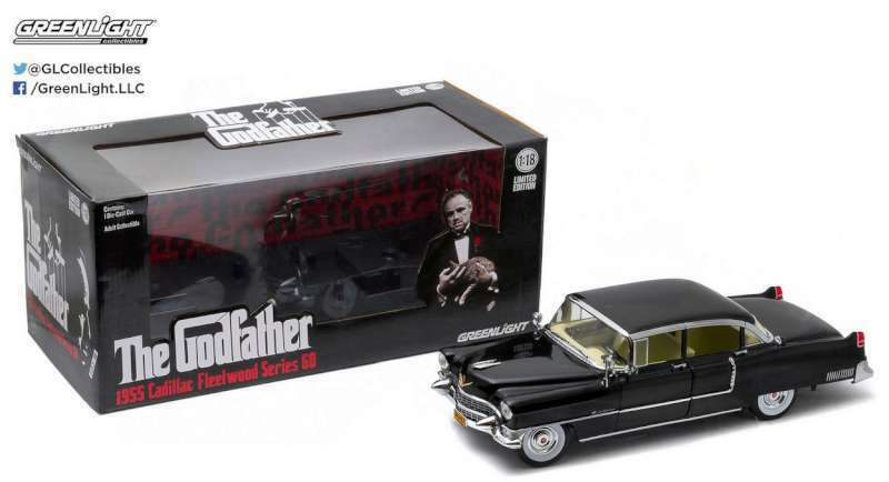 GREENLIGHT 12949 CADILLAC FLEETWOOD SERIES 60 model car THE GODFATHER 1972 1 18