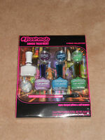 New, Flashmob By Markwins Shock Treatment 9 Piece Nail Kit