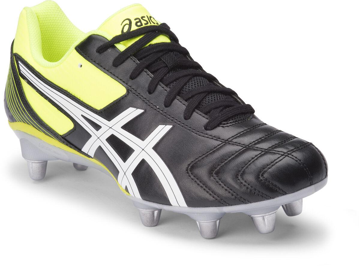 Asics letal Tackle Tornillo-en Para Hombre botas de fútbol (9001)