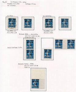 Memel-Nr-57-Feldstudie-auf-2-Seiten-mit-ZW-Ms-57-I-postfr-u-a-C0080