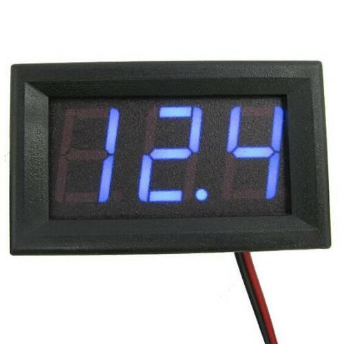 30V 2Wire LED Digital Display Panel Volt Meter Voltage Voltmeter For Car Motor .
