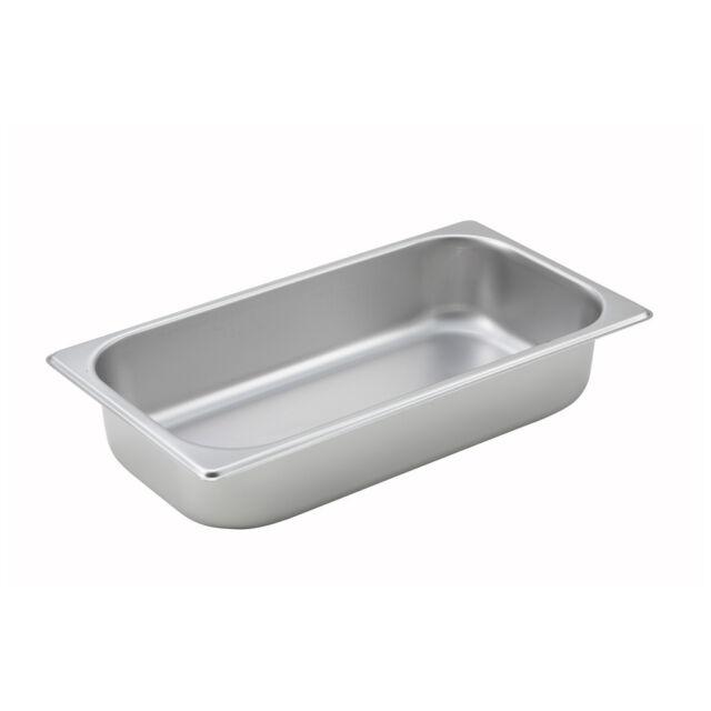 NSF 2.5-Inch Deep Half Size Steam Table Pan Winco SPH2