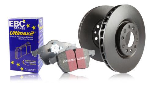 EBC Front Discs /& Ultimax Pads Seat Leon Mk1 1M 1.8 Turbo Cupra R 210HP 02/>06
