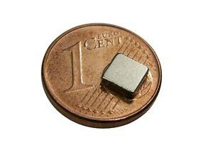 s150 quadermagnete 20 st ck sehr starke magnete 5x5x1 5mm neodym f r reedkontakt ebay. Black Bedroom Furniture Sets. Home Design Ideas