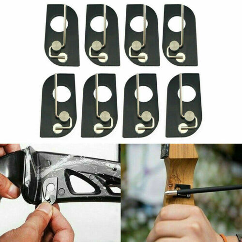 Archery Magnetic Arrow Rest Recurve Bow Shoot Hunting Right//Left Hand Black