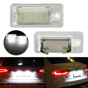 Feux-Eclairage-de-Plaque-LED-pour-Audi-A3-8P-A4-RS4-A5-A6-4F-A8-S8-4E-4H-Q7-4