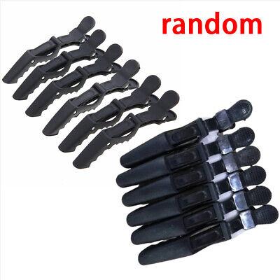 12x Friseur Abteilklammern Haarklammern Haarclips Haarstyling Clip Schwarz