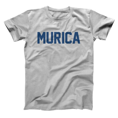 Murica American  4Th July Redneck Party Drinking Gray Basic Men/'s T-Shirt