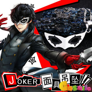 Persona 5 Christmas Gifts.Details About Persona 5 Joker Mask Pendant Necklace 925 Silver Christmas Gift New