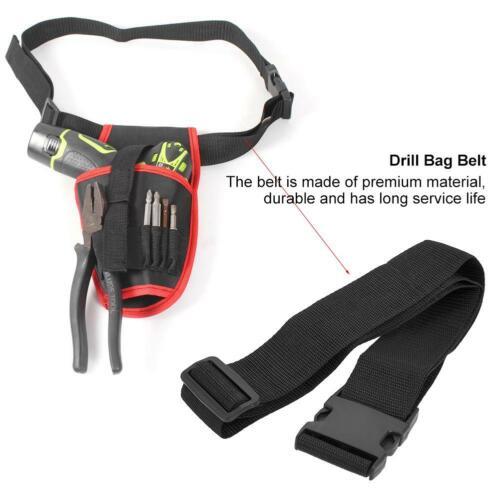 Electricians Waist Tool Belt Pouch Bag Carry Case Multiple Pockets Belt