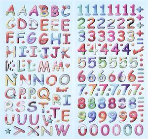 Abc Alphabet Buchstaben Zahlen Schulanfang Softy Sticker Geburtstag