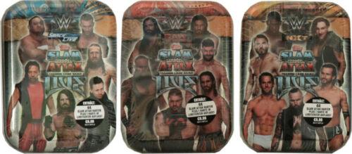 Mini Tin 3er Set WWE Slam Attax LIVE Topps