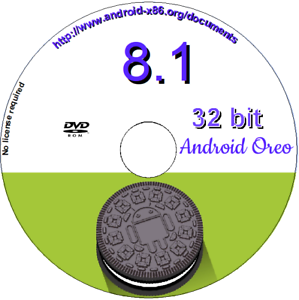 Details about Android 8 1-r1 for PC x86 32 bit O/S OREO live and/or  installation DVD Boot disc