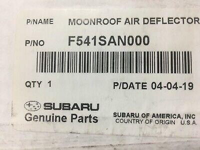 Genuine OEM 2015-2019 Subaru Outback OR Legacy Moonroof Air Deflector