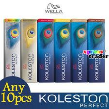 Any 10pcs Koleston Wella Perfect Colour Dye 60g Permanent Hair