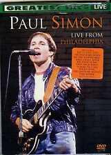 Paul Simon - Live From Philadelphia (DVD, 2008)