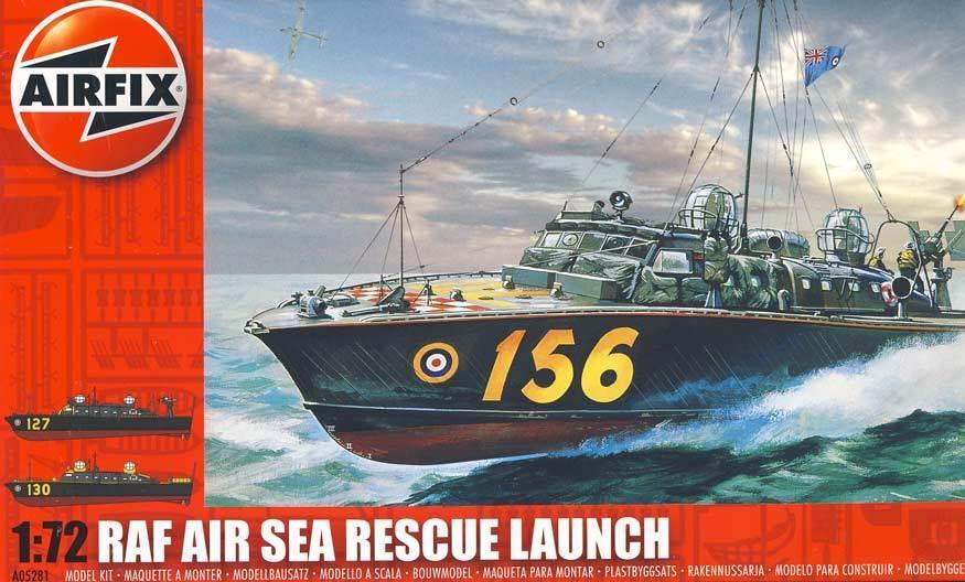 Airfix RAF AIR SEA RESCUE Launch Hellfire Corner Modelo Equipo Equipo Equipo de construcción 1 c67ab6