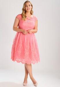 5f2b471a83556 chi chi london curve cap sleeve baroque style tea midi dress size uk ...
