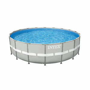 Details About Intex 20 X 48 Ultra Frame Above Ground Swimming Pool Set W Pump 28303sr