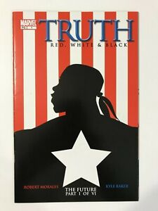 TRUTH-RED-WHITE-amp-BLACK-1-2003-1ST-FIRST-ISAIAH-BRADLEY-CAPTAIN-AMERICA