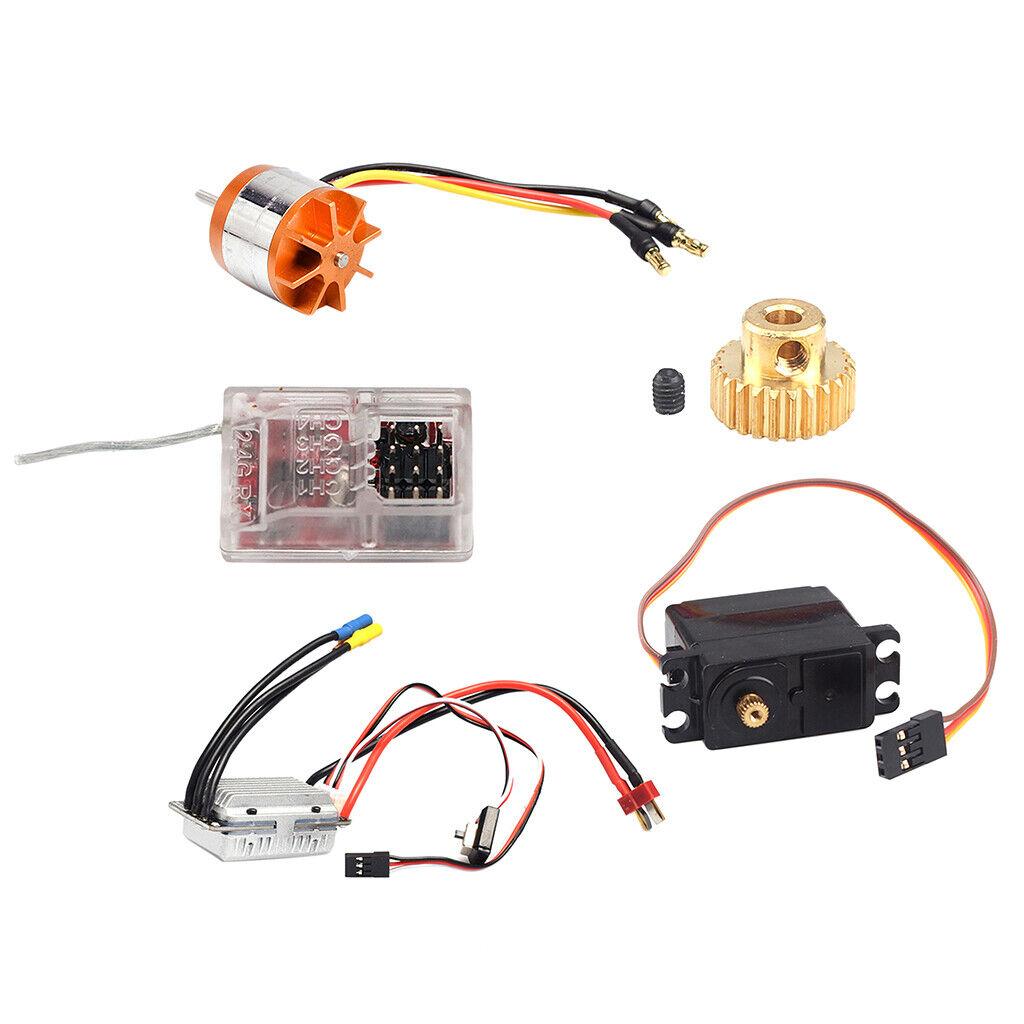 1 12 RC auto Upgrade accessori per Feiyue fy01 02 03 04 05 06 07, JJRC q39