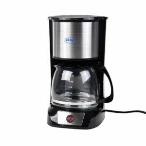 ELTA-Kaffeemaschine-12-Tassen-1-5-L-800-Watt-Schwarz