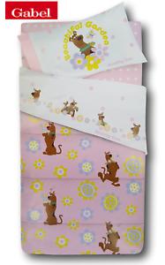GABEL-Steppdecke-Decke-winterlich-scooby-doo-flowers-300gr-mq-Einzel-1-Quadrat