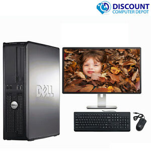 CLEARANCE-Fast-Dell-Desktop-Computer-PC-DUAL-CORE-WINDOWS-10-4-8-16GB-RAM