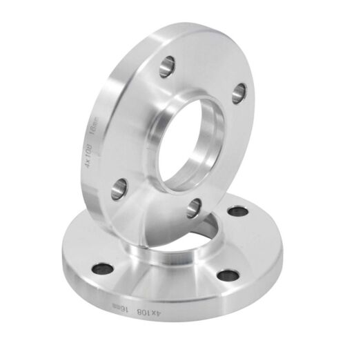 Hubcentric 15mm Alloy Wheel Spacers For Peugeot 207 Inc GTI CC 4x108 65.1