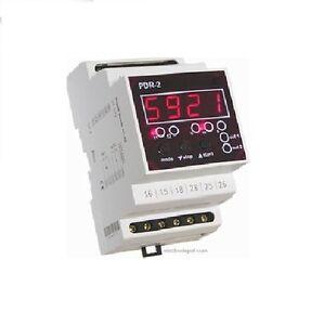 Dual Multifunction Digital Timer Off On Delay Cyclic 12V 120V to 240V 0 to 60h 934166121203
