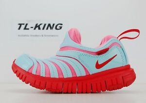 buy popular 5efba 6d9d5 Image is loading Nike-Dynamo-Free-PS-Pre-School-Kids-Lava-