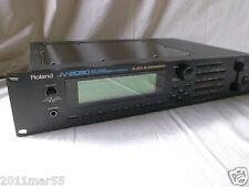 Roland JV-2080 64Voice Synthesizer Module new internal battery!! 100-240V