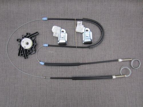 Kit De Reparación Regulador de Ventana Frontal Derecho seglar Reino Unido Lado del conductor VW Polo 6KV2 Saloon
