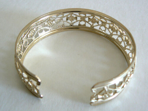 SALE Filigree Vintage Bracelet From West Germany Light Weight Never Worn OneSize