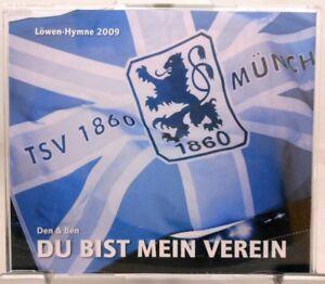 TSV-1860-Muenchen-CD-Du-bist-mein-Verein-Die-Loewen-Hymne-von-Den-und-Ben