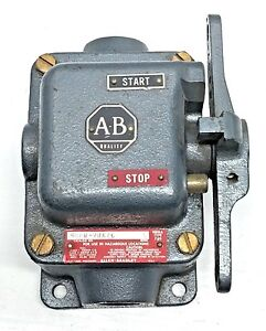 AB-Allen-Bradley-800H-2HA7C-Series-L-NEMA-7-9-Start-Stop-with-Enclosure