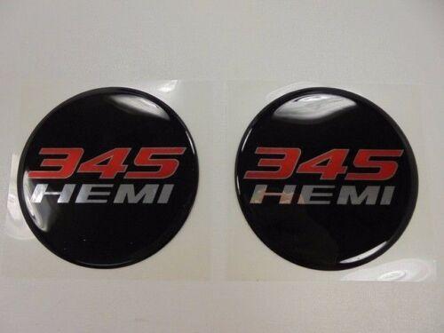 Challenger Charger Under Hood Beverage Delete Emblem Decal Black /& Red 345 Hemi