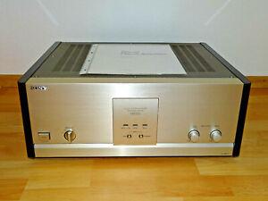 Sony-TA-N80ES-MKIII-Endstufe-Bolide-Champagner-inkl-Anleitung-2J-Garantie