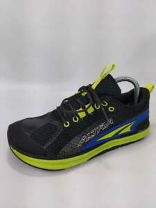 Altra-Mens-Torin-Zero-Drop-Running-Shoes-Black-A1235-1-Lace-Up-Mesh-Leather-8