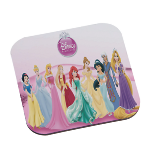 Disney Princesses Set Of 4 Drink Pad Square Wooden Coasters y5/_02 w2015