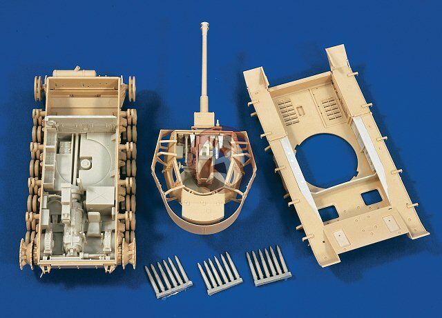 Verlinden 1 35 Panzer IV Tank Interior Detail Set WWII (for Tamiya) [Resin] 1534